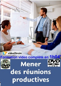 DVD Coaching - MENER DES REUNIONS PRODUCTIVES - 1h 04 min