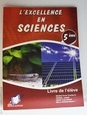 L'excellence en Sciences 5ème.