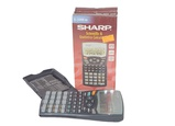 Calculatrice scientifique SHARP, EL-509W-BK