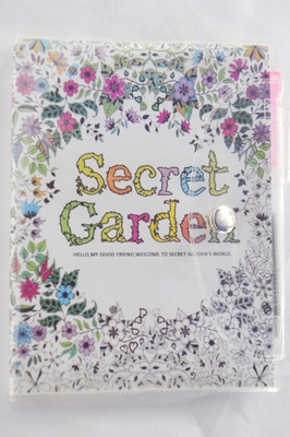 Note - Boock Secret Garden A6 avec stylo, 100 pages