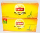 Thé Nature Lipton Yellow Label Tea - 25 sachets