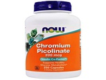 Now Foods, Picolinate de chrome, 200 mcg,