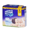 Couche jetable TOUJOURS Night & Day, Uitra fines - 3 à 6 kg mini - 34 pcs