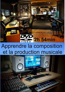 Dvd Apprendre La Composition Et La Production Musicale : 2h 54 Min
