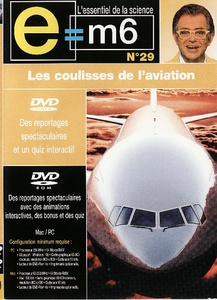 DVD DOCUMENTAIRE INTERACTIF - LES COULISSES DE L'AVIATION (60 min)