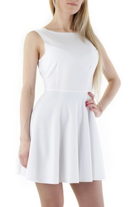 Robe SEXY WOMAN Blanc Taille M