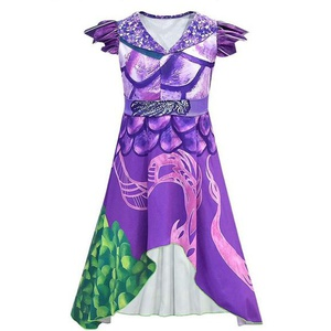 Costume dragon mall pour fille taille 130 A2.2