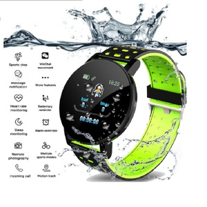 Montre Intelligente Smart Bracelet Vert Electro