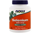 Now Foods, Sélénium, 200 mcg