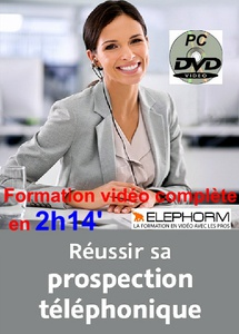 DVD Coaching - REUSSIR SA PROSPECTION TELEPHONIQUE : 2h 14 min