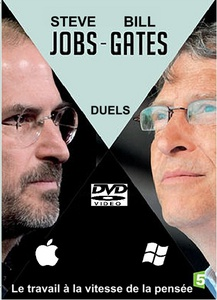 Dvd documentaire -  Steve jobs & Bill gates : le travail a la vitesse de la pensée (1h 25 min)