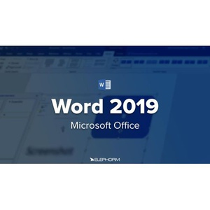 DVD Multimédia - Formation à Word 2019 - 3h 09 min.