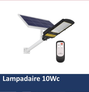 Lampadaire solaire 10Wc