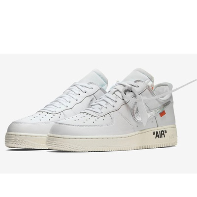 OFF WHITE NIKE AIR FORCE LOW WHITE