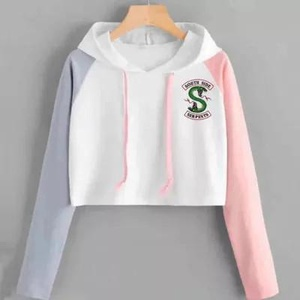 Pull à capuche Rose-gris South Side Taille S 2500 Reste A12