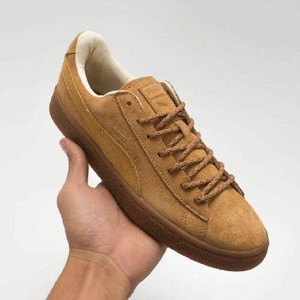 Chaussure  Puma  basket   en daim marron   pointure 37 à 40