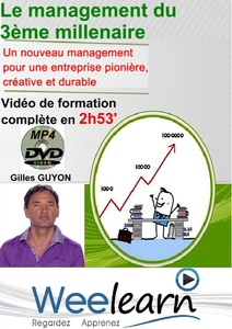 DVD Coaching - LE MANAGEMENT DU 3ème MILLENAIRE - 2h 53 min