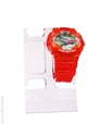 Montre G-Shock en plastique de couleur orange.