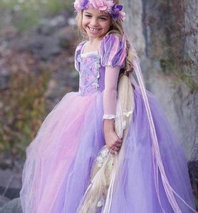 Costumes fille robe Cartton princesse taille 120