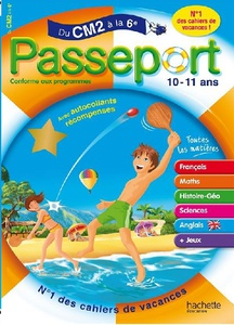 DVD Multimédia et Interactif - Passeport CM2 Vers 6è