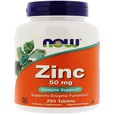 Now Foods, Zinc, 50 mg
