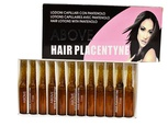 Lot de 12 lotions capillaires Above hair placentyne 11 ml
