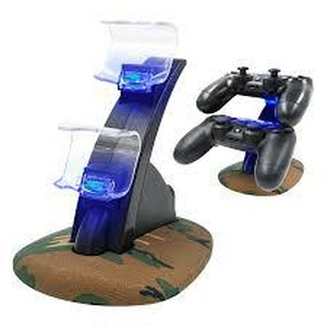 2 Manettes PS4 + 1 Station de charge Ps4