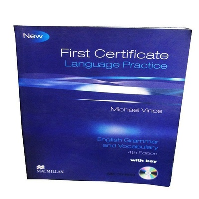 First Certificate Language Practice : English Grammar and Vocabulary