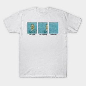 T-Shirt Van Gogh - Goghing - Gone Taille M