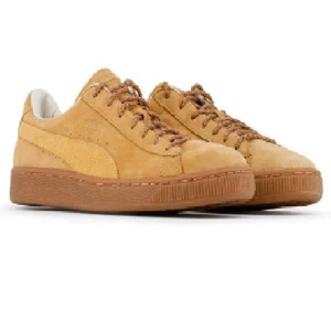 Chaussure Puma basket en daim marron / Pointure 41 à 45