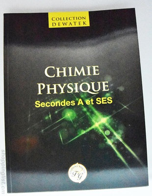 Chimie physiaue seconde A et SES.