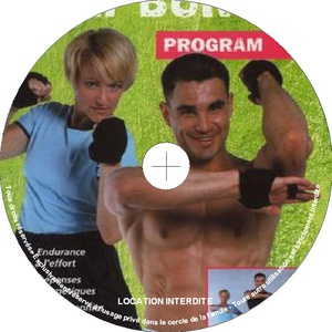 DVD Vidéo - Body fat burner : 55 min