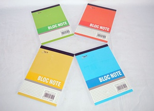 Bloc Notes quadrillés A5, 120 pages