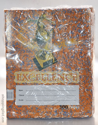 Cahier excellence 300 Pages A5