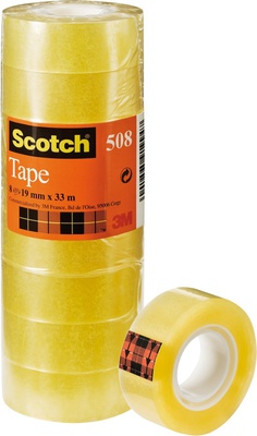 Scotch Ruban Adhésif Transparent 19mm X 33m