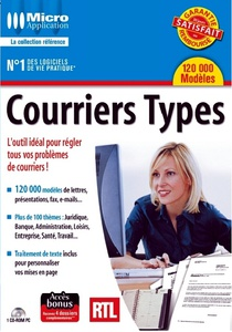 DVD - 120.000 MODELES DE COURRIERS TYPES