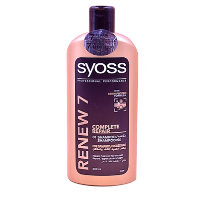 SHAMPOOING SYOSS RENEW 7 500ml