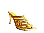 Chaussure escarpin Diamond couleur or