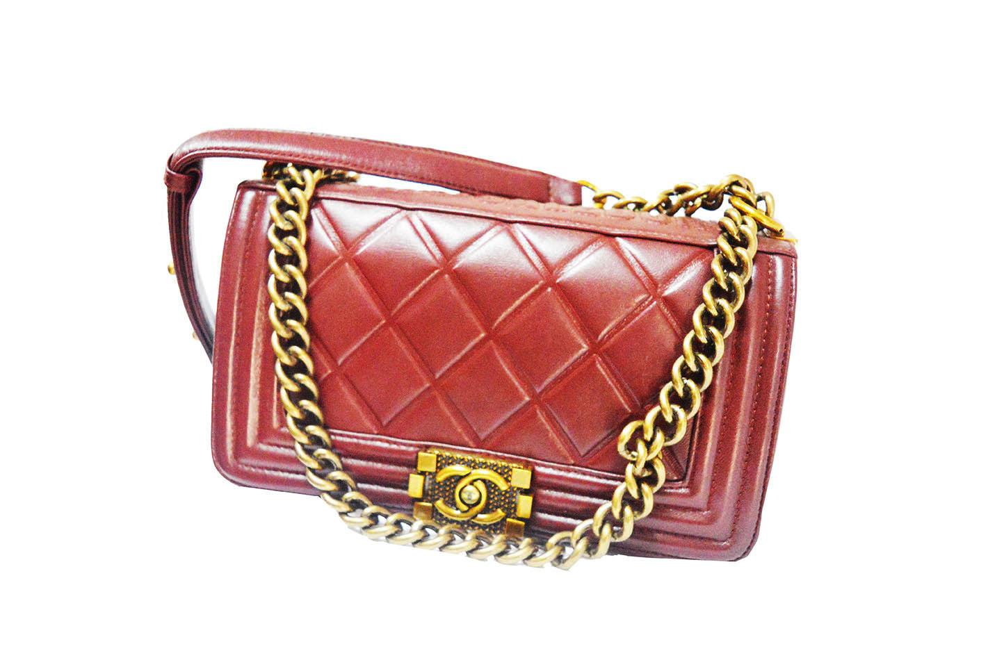 7409de254147 ShoppingList   Sac Femme Channel Boy (Women Hand Bag)