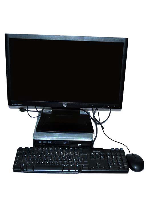 shoppinglist ordinateur complet de bureau hp core duos. Black Bedroom Furniture Sets. Home Design Ideas