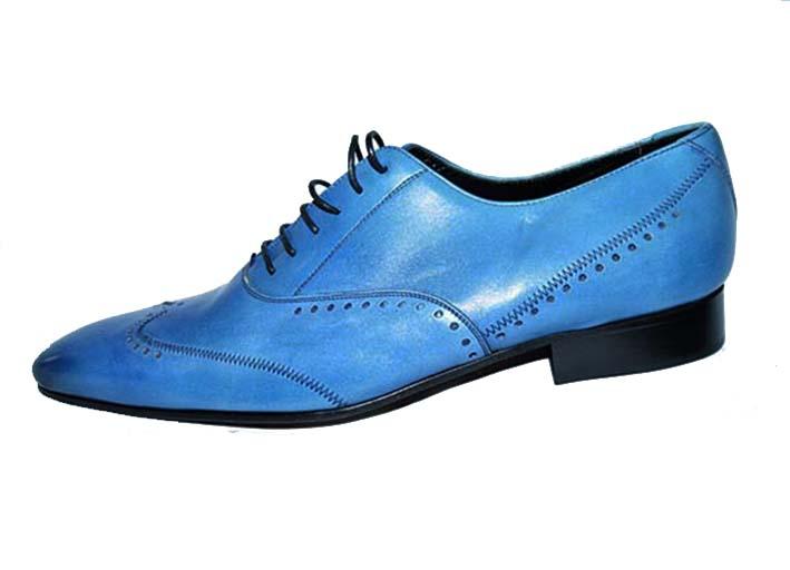 7d7841f3069510 ShoppingList | Chaussure de ville homme Umberto Giordi en cuir bleu ...