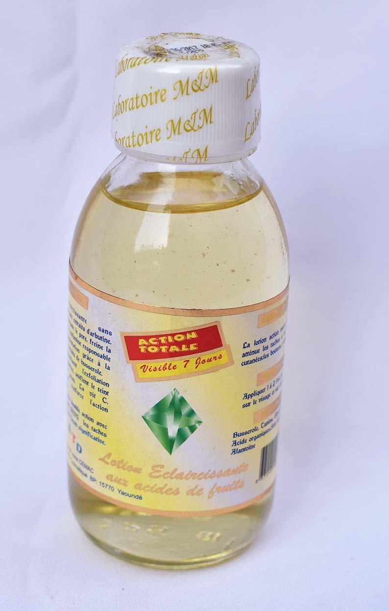 acide de fruit eclaircissant