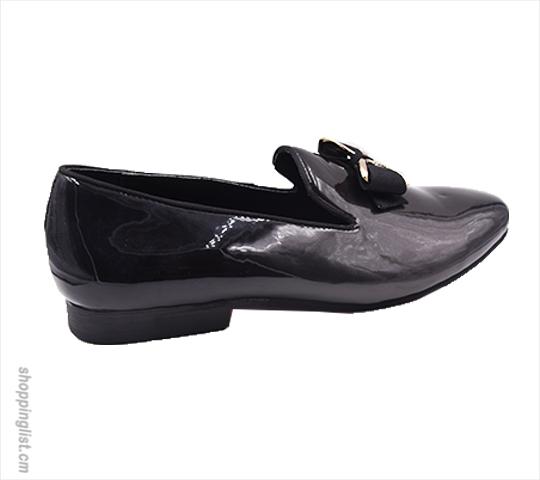 d236d5c37317 Chaussure de ville homme slippers en cuir ciré