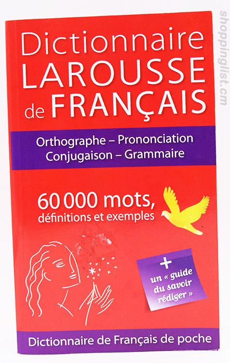 Dictionnaire Larousse de Français