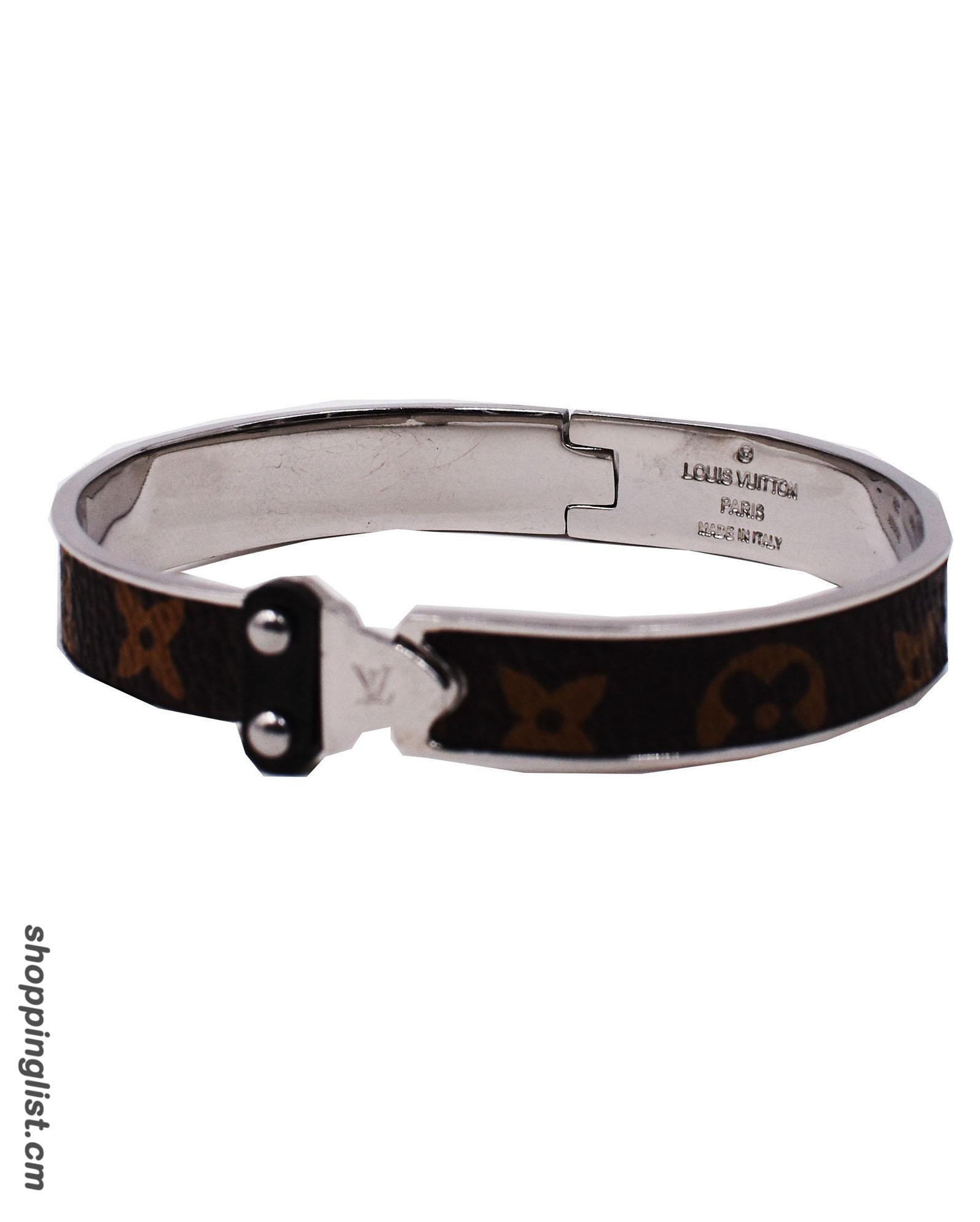 Bracelet cuir homme vuitton